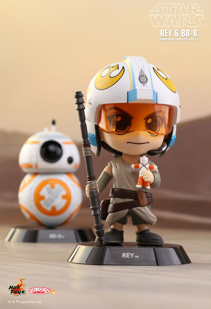 Hot Toys COSB404 STAR WARS: THE FORCE AWAKENS - REY & BB-8