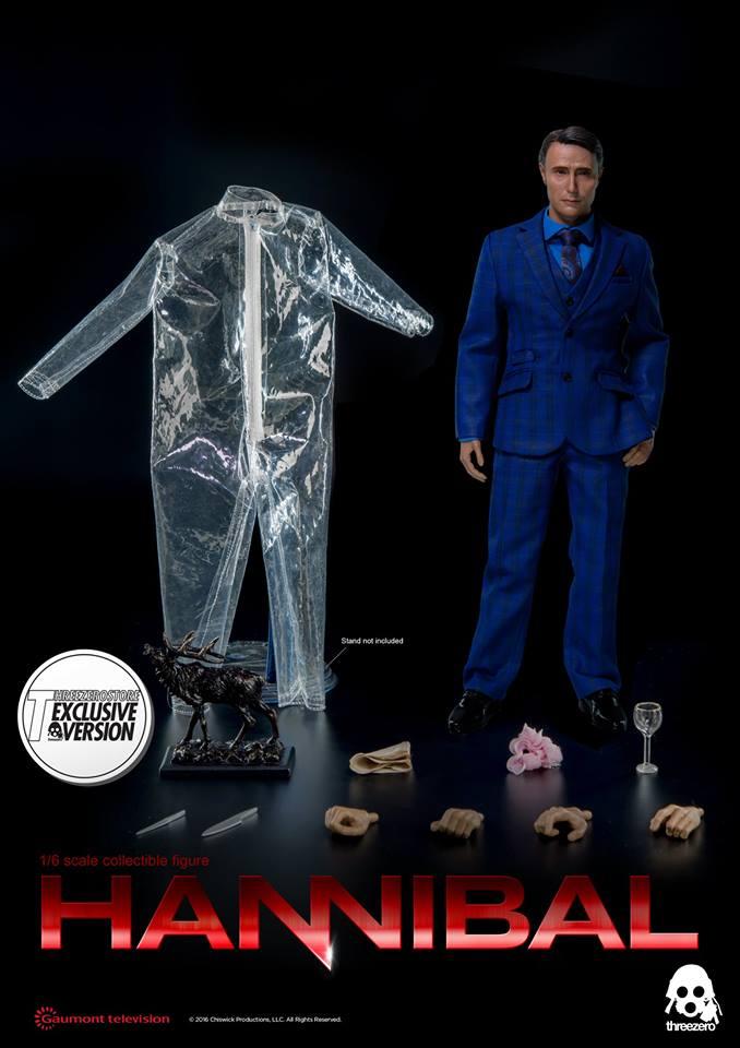 threezero 1/6 Hannibal - Dr. Hannibal Lecter (Exclusive Version)