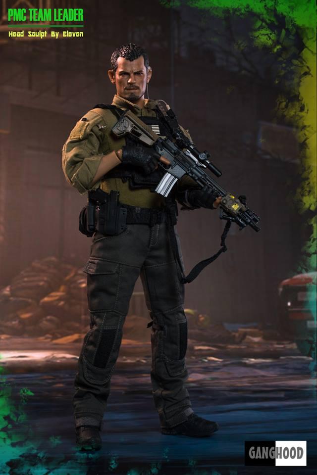 GangHood GH-PMC 1/6 PMC Team Leader