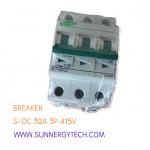 Beaker แบบ MCB_S-DC ขนาด 20A 415V 2P