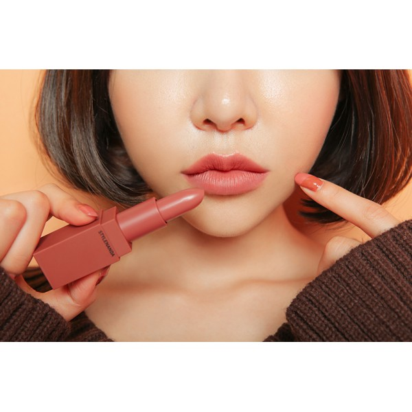 *พร้อมส่ง*3CE Mood Recipe Matte Lip Color # 115 MUSS สีชมพูกุหลาบแห้ง ลิปแมทในคอลเลคชั่นโทนฤดูในไม้ผลิ สีอมตะใช้ได้ทุกงาน สีโทนอุ่น เปลี่ยนสีปากให้สมูธ แมตถึงใจ น่าหลงใหล พร้อมปรุงสีริมฝีปากให้สวยละมุน ,