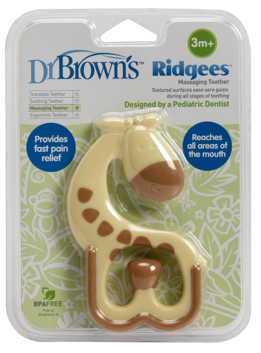 Dr. Brown's Teether, Ridgees Giraffe ยางกัด
