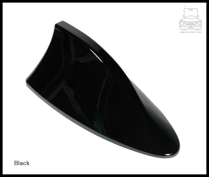 เสาวิทยุครีบฉลาม สีดำ (Black)