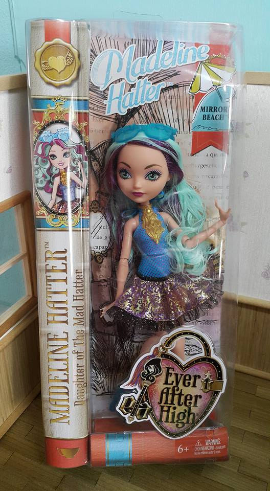 Ever After High Mirror Beach Madeline Hatter Doll