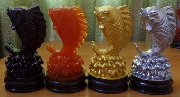 ปลาหลีฮื้อ สัตว์มงคล แบบที่ 1