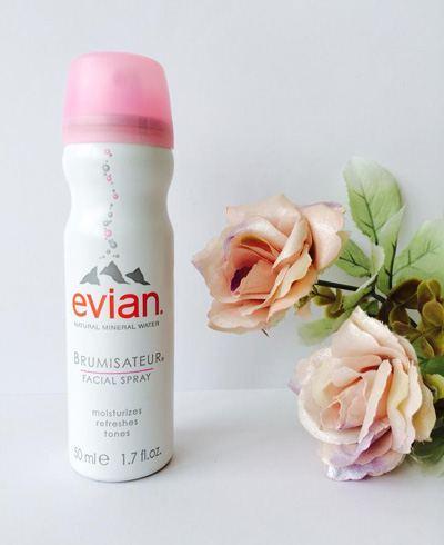 สเปรย์น้ำแร่เอเวียง Evian facial spray