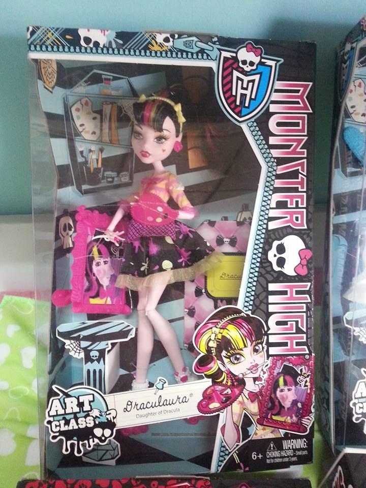 Monster High Art Class Abbey Bominable Doll