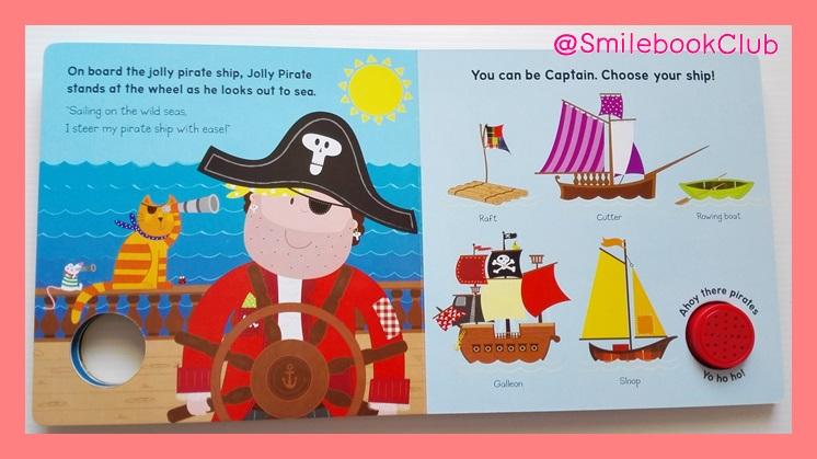 My Very Jolly Pirate - Sound Book