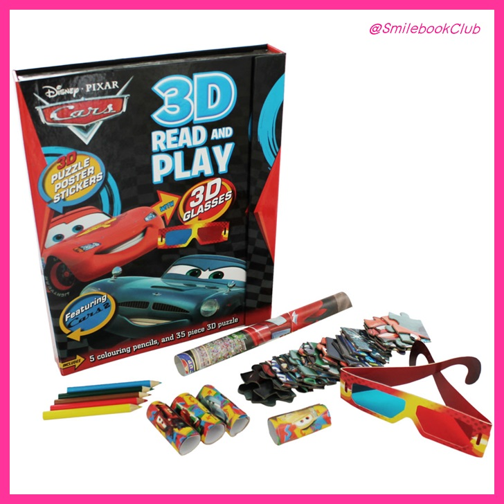 Disney Pixar Cars - 3D Read and Play