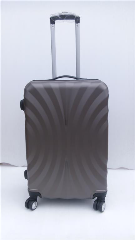 กระเป๋าเดินทาง ขนาด 20 นิ้ว ลายพัดสีน้ำตาล