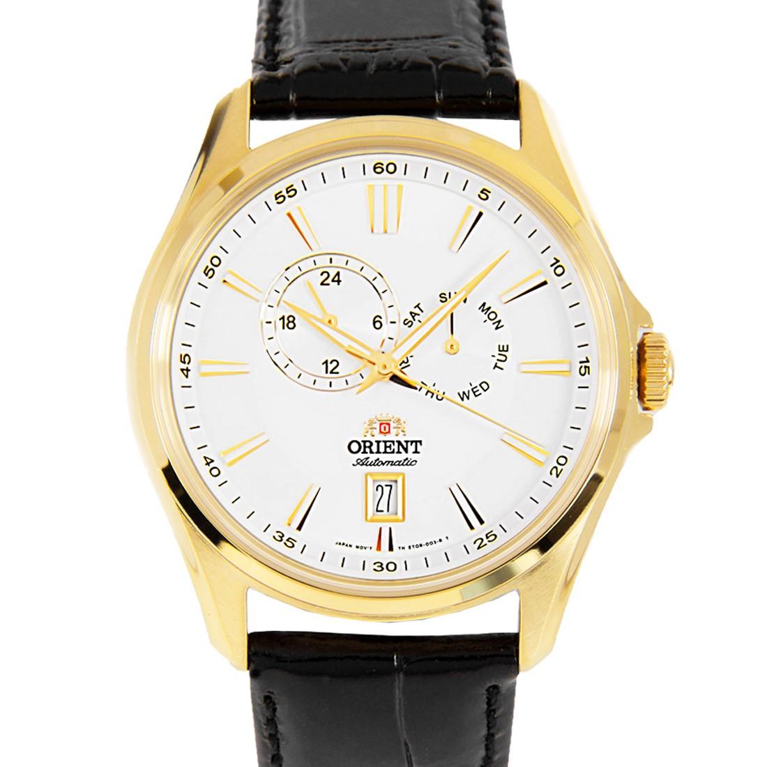 Orient Automatic Gold Leather Watch Orient ET0R002B