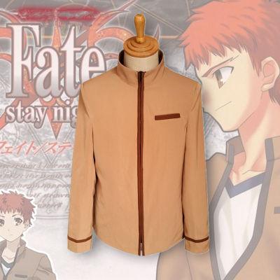 ชุดคอสเพลย์ชายแฟชั่น Fate Stay Night Shiro Emiya แนวแจ็คเก็ตแขนยาว