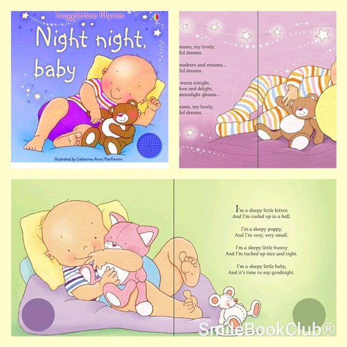 Usborne : Night night, baby - Snuggletime Rhymes