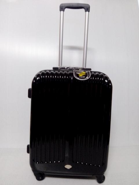 กระเป๋าเดินทาง คุณภาพดี แบรนด์ POLONAISE สีดำ ขนาด24 นิ้ว ของแท้