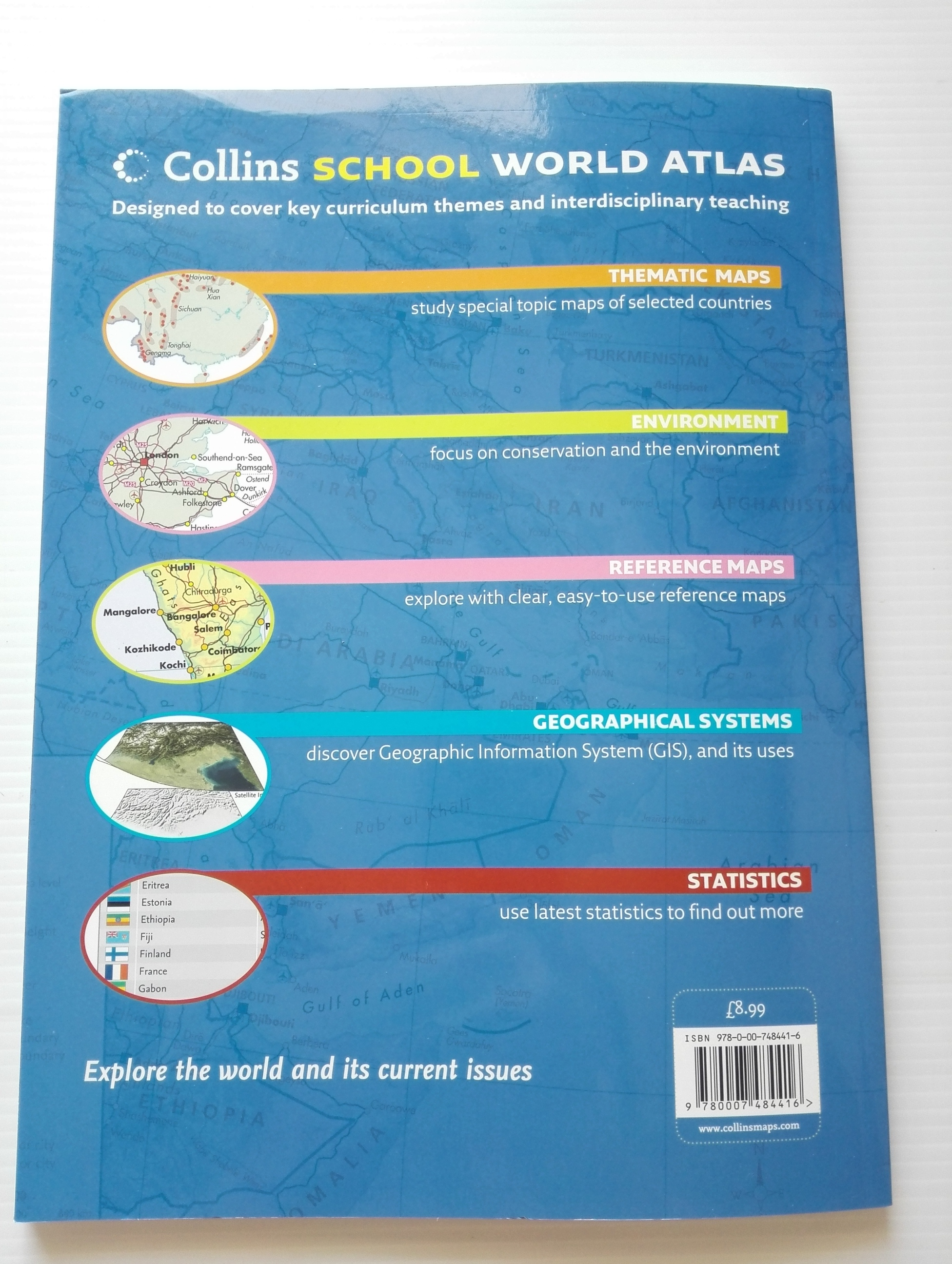 Collins : SCHOOL WORLD ATLAS