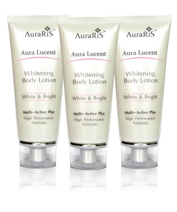 AuraRIS Body Lover Set ครีมตัวขาว โลชั่นบำรุงผิวขาว ขาวถึงที่สุด Whitening Body Lotion 90ml. (3 หลอด)