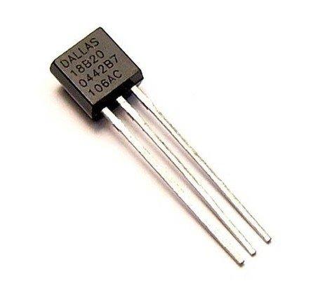 IC DS18B20 TO92 เซนเซอร์อุณหถูมิ DS18B20