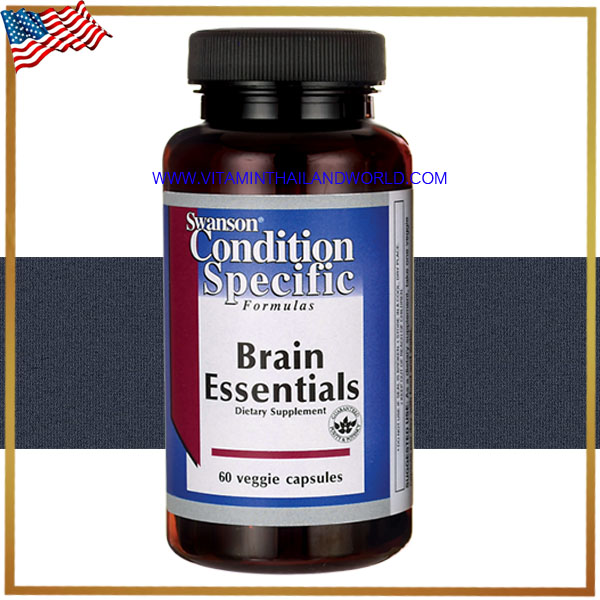 Swanson Vitamins - Brain Essentials 60 Capsules