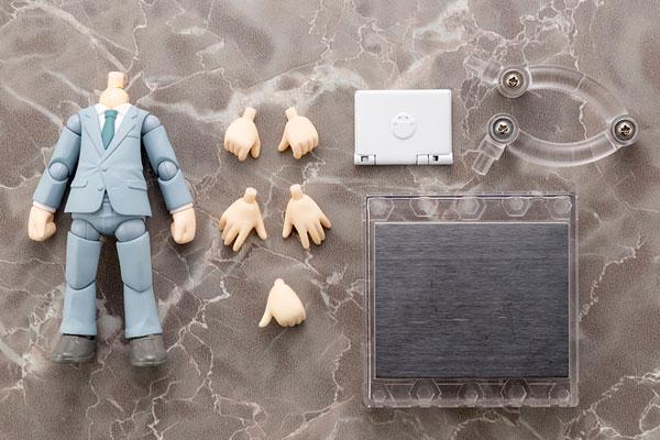 Cu-poche Extra - Suit Body (Gray) Posable Figure(Pre-order)