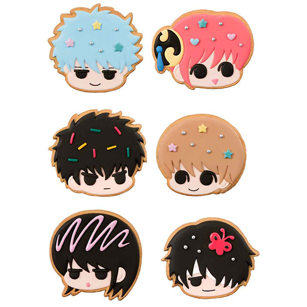 Charm Patisserie - Gintama Gin-san no Cookie-ya-san 6Pack BOX(Pre-order)