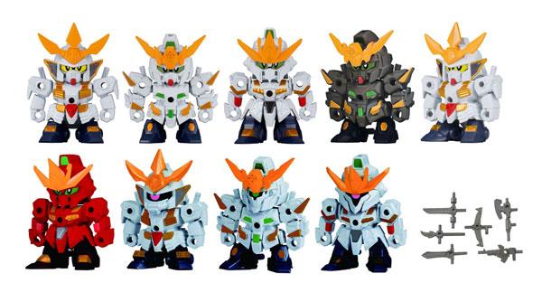 Gundam Build Divers - Gasha Pla SD Gundam Build Divers Vol.01 12Pack BOX(Pre-order)