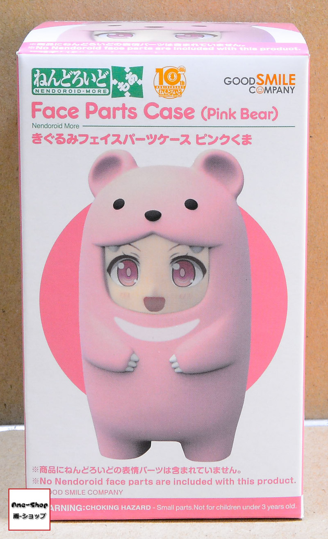 Nendoroid More - Kigurumi Face Parts Case (Pink Bear)