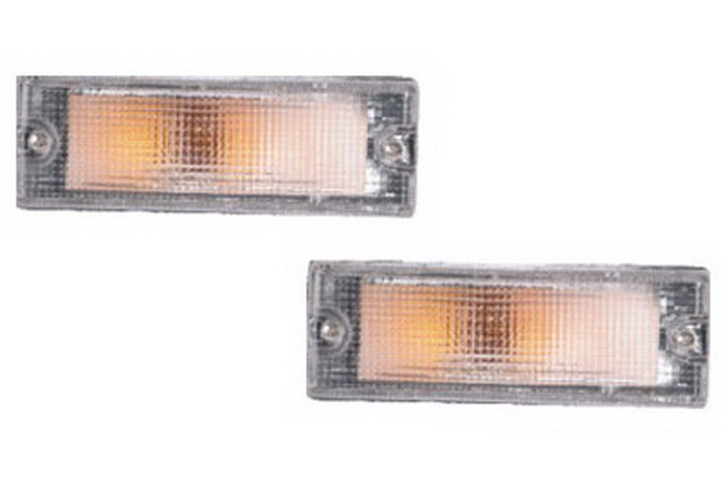 02-236 R/L Clear Front Direction Indicator Lamp, Clear Lens