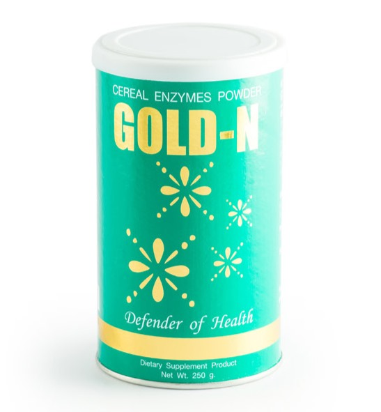 โกลด์ เอ็นซ์ (Gold-N) อุดมด้วยกรดอะมิโนจากธัญพืช ฟื้นฟูระบบต่าง ๆ ในร่างกาย สร้างภูมิต้านทาน เสริมสร้างระบบประสาทและความจำ