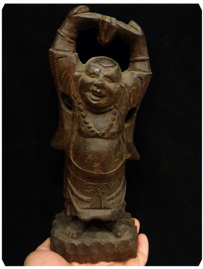 สังกัจจายน์จีน ไม้มะเกลือ สูง 8 นิ้ว