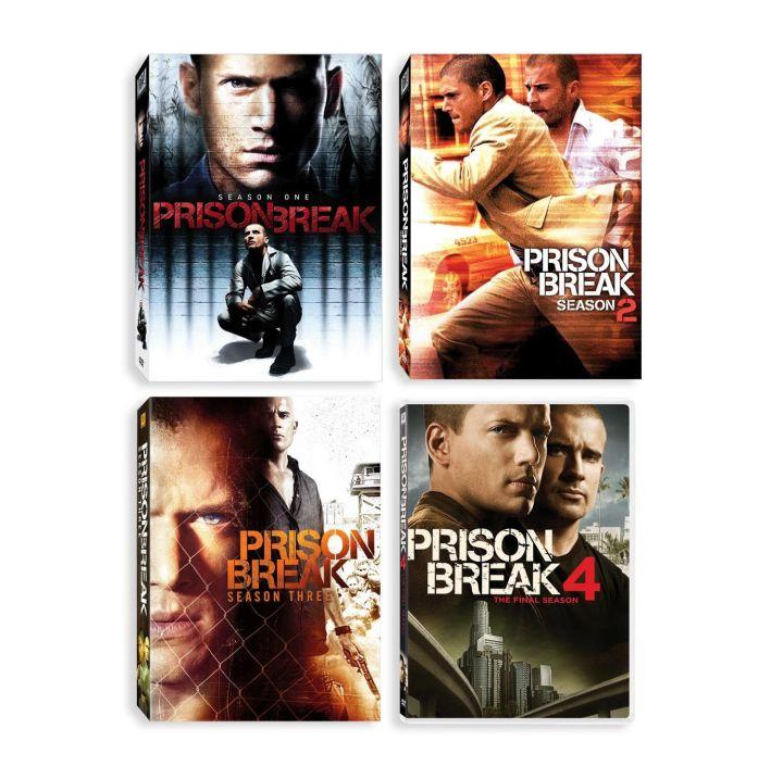 DVD Prison Break แผนลับแหกคุกนรก (The Complete Season 1-5 + The Final Break) 25 แผ่นจบ (Master ซับไทย)