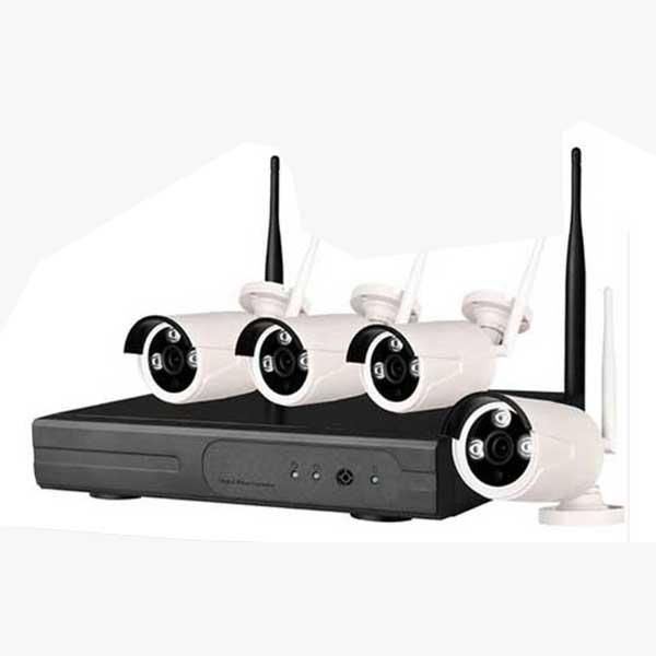 กล้องวงจรปิด 4CH 960P Wireless WIFI IP Camera NVR Kit CCTV