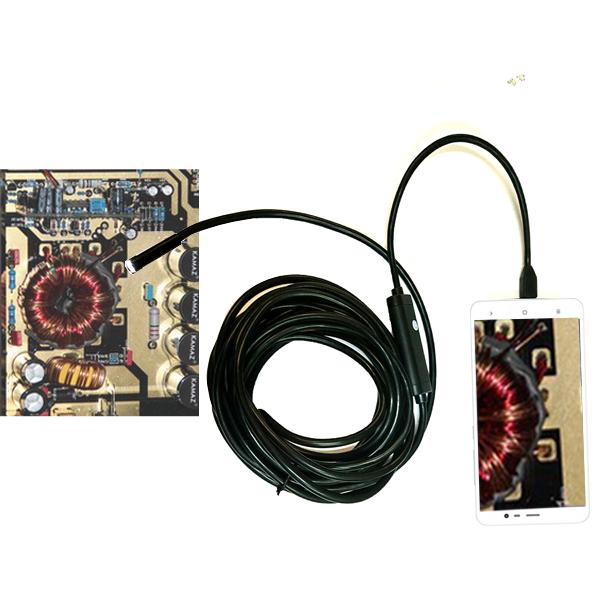 กล้องงู Endoscope Inspection Camera ยาว 5 เมตร