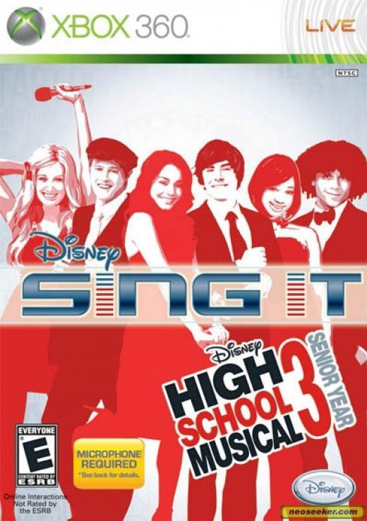 Disney Sing It: High School Musical 3 [ต้องมี Micorophone ]