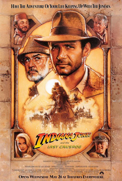 Indiana Jones and the Last Crusade - BMine DVD : Inspired by LnwShop.com