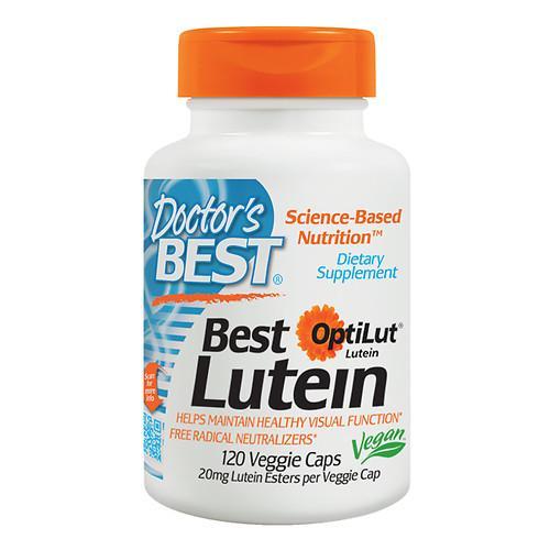 Doctor s Best Best Lutein 120 Veggie Caps