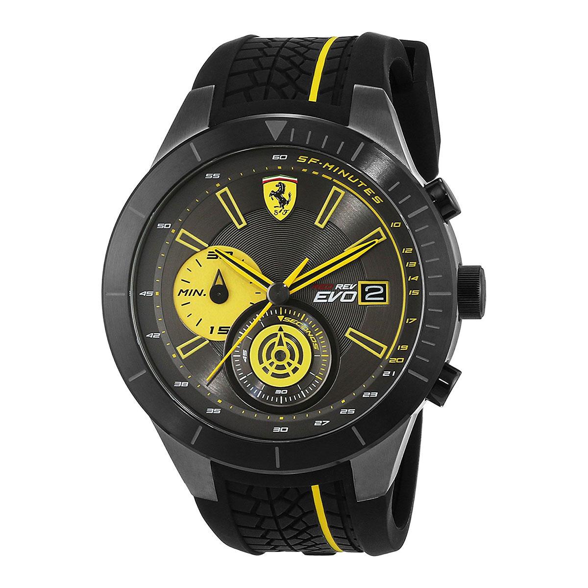 นาฬิกาผู้ชาย Ferrari รุ่น 0830342, RedRev Evo