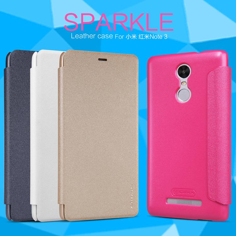 เคส Xiaomi Redmi Note 3 Nillkin Sparkle Leather Case