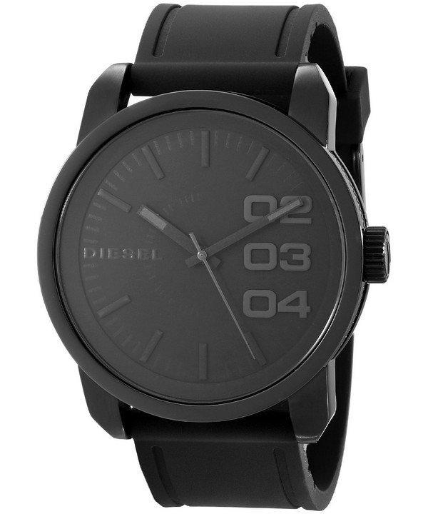 นาฬิกาผู้ชาย Diesel รุ่น DZ1446, Not So Basic Black Dial Rubber Strap