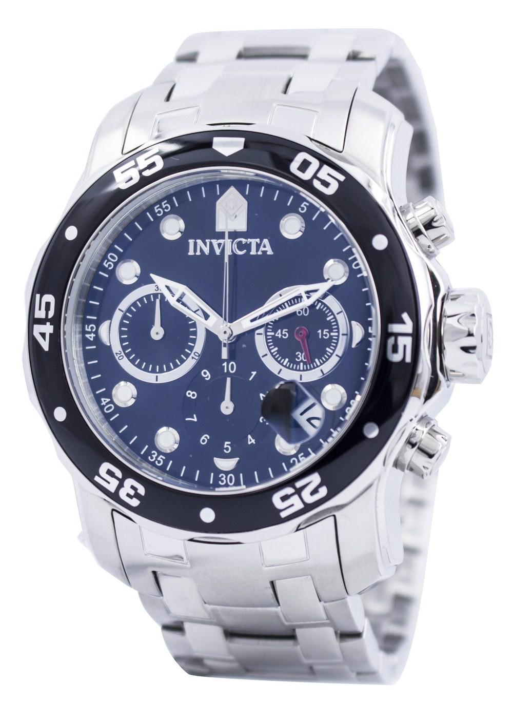 นาฬิกาผู้ชาย Invicta รุ่น INV0069, Pro Diver Chronograph 200M