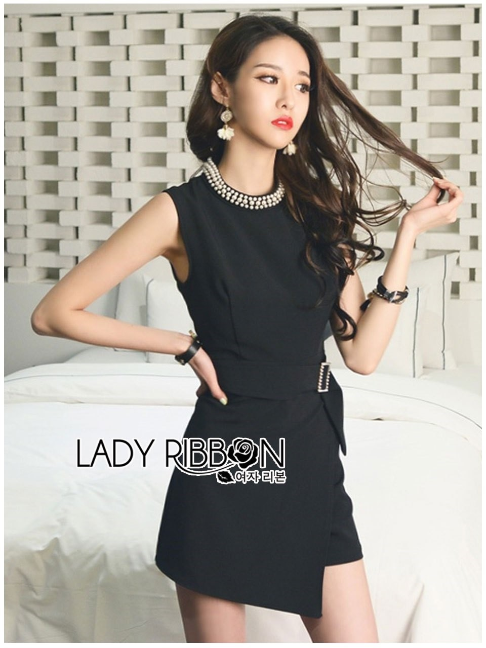 &#x1F380 Lady Ribbon's Made &#x1F380 Lady Kate Sexy Elegant Embellished playsuit with Belt