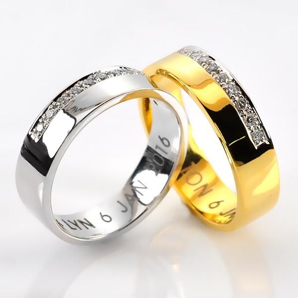 แหวนเพชรคู้รัก