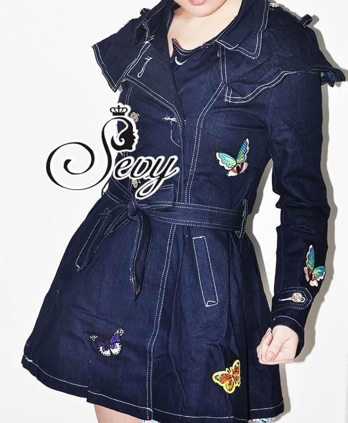 Sevy McQueen Butterfly Roberta Coat