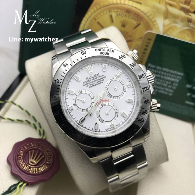 Rolex Daytona Cosmograph REF# 116520 - White Dial