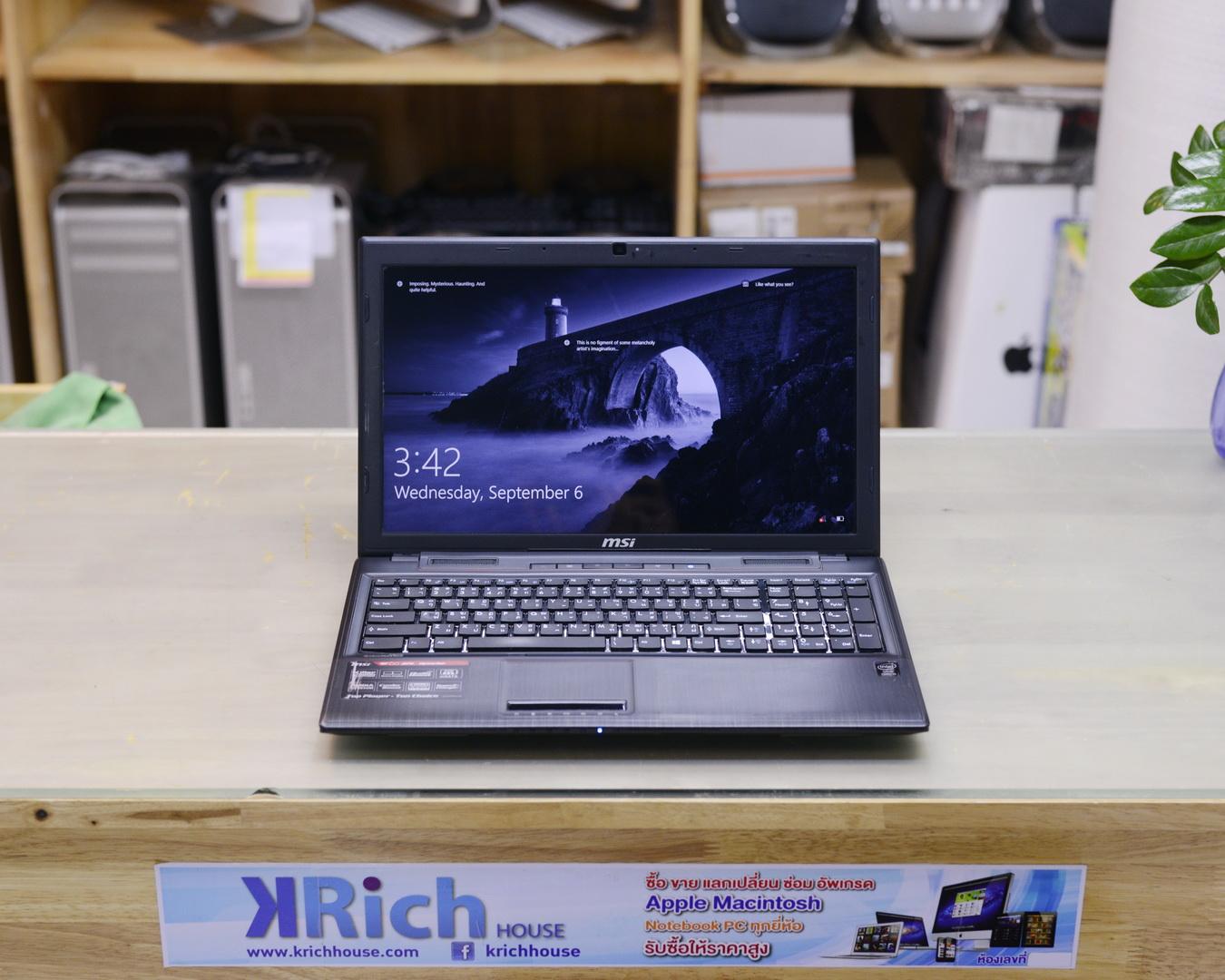 MSI GE60 2PL Core i5-4200H 2.8GHz RAM 4GB HDD 1TB GTX 850M 2GB - Display 15.6 inch Full HD
