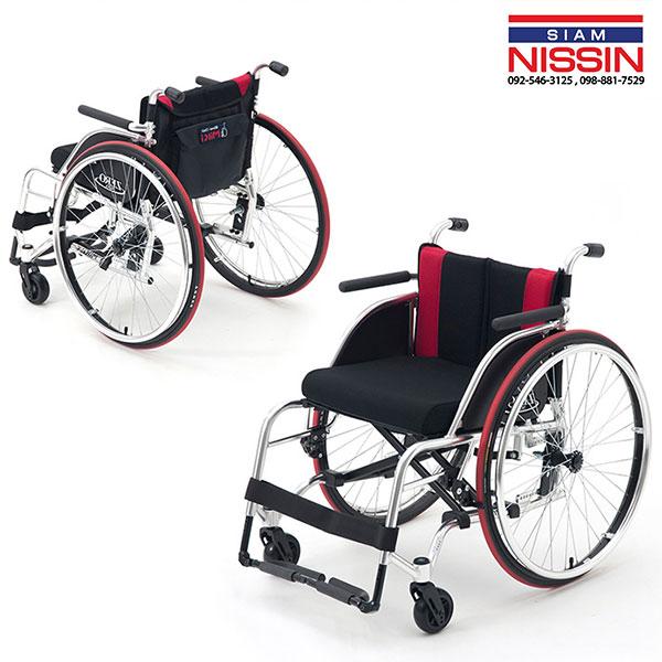 รถเข็นผู้ป่วย รถเข็นคนพิการ วีลเเชร์ MIKI รุ่น NOVA ZERO