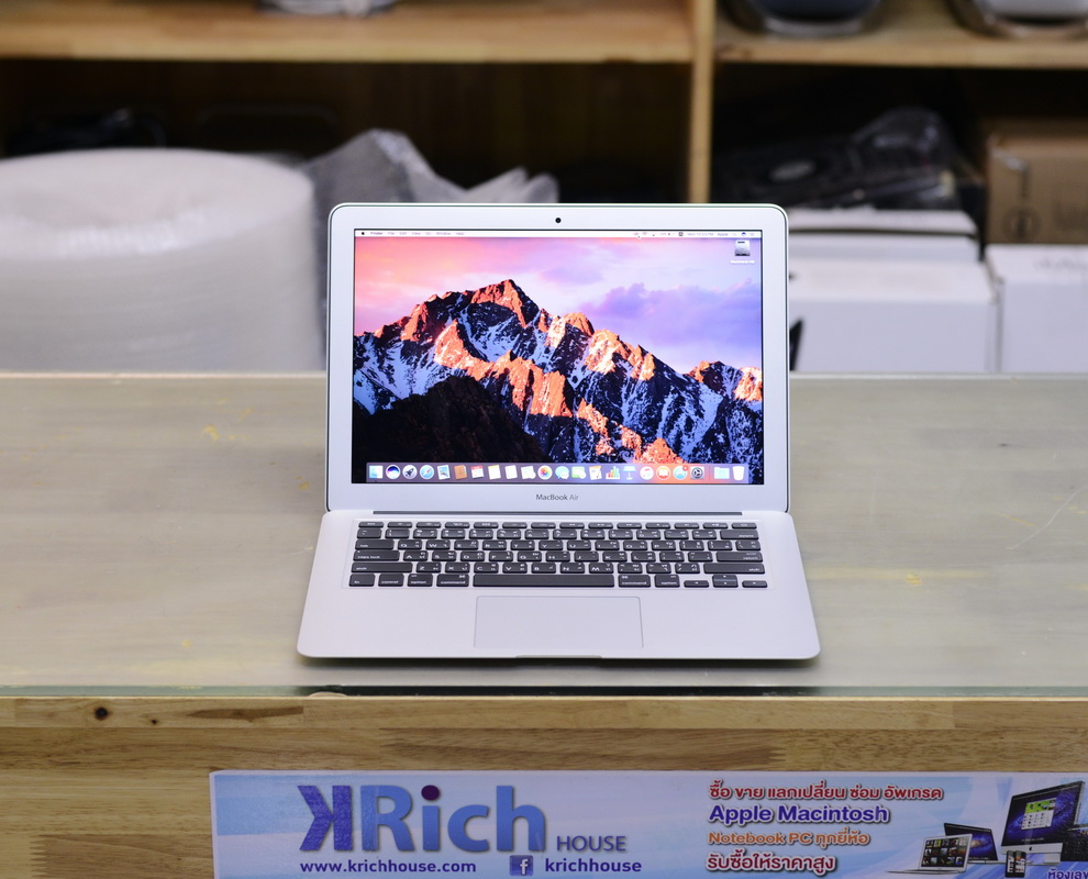 MacBook Air 13-inch Early 2014 i5 1.4GHz RAM 4GB SSD 128GB