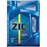 Zic X5 20W50 เบนซิน10,000กิโล ขนาด 4+1 ลิตร