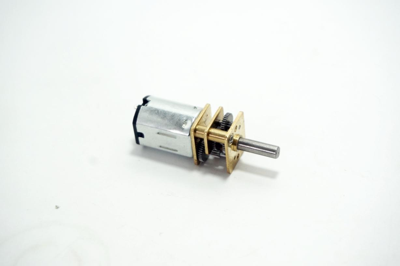DC 12V 300RPM micro metal gear motor