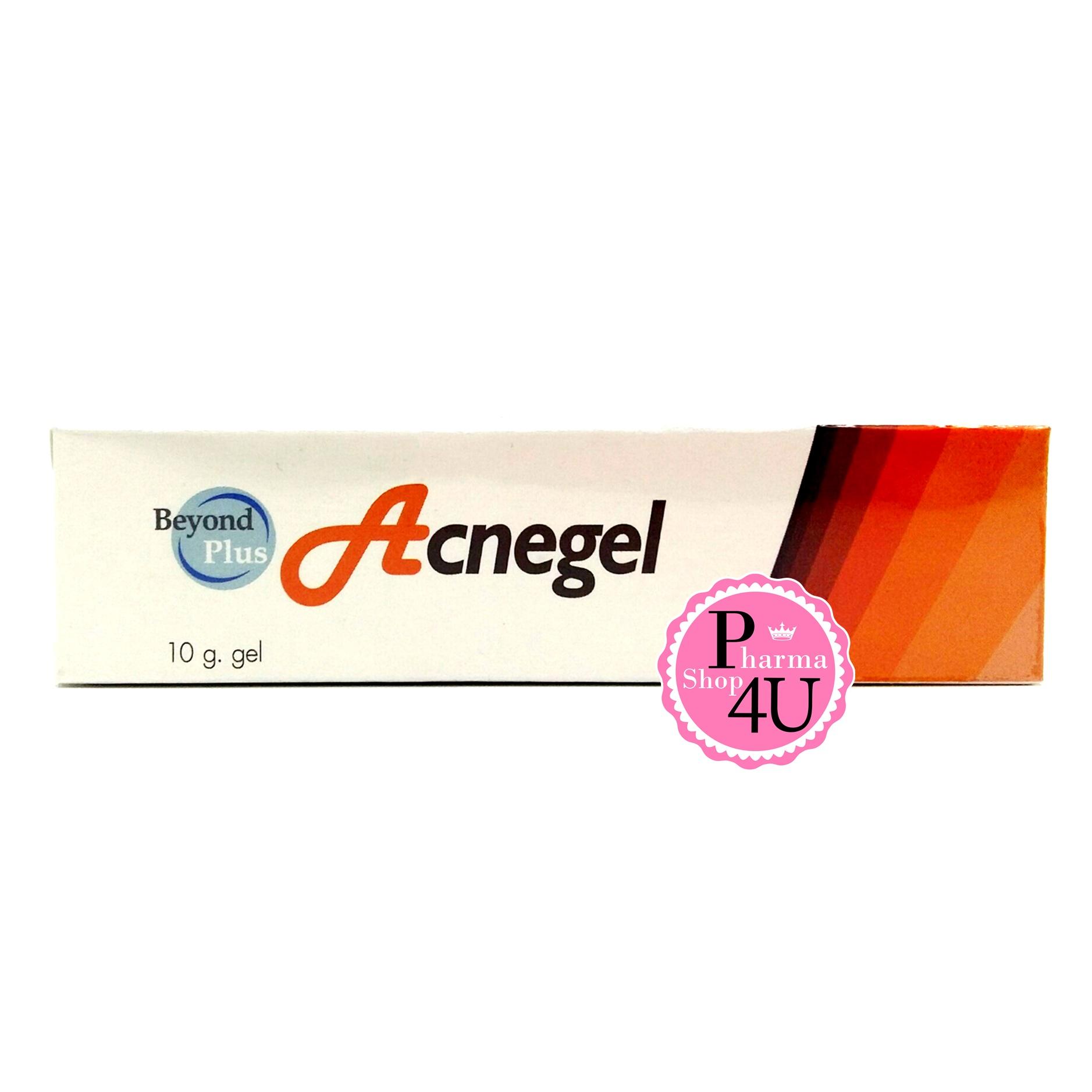 Beyond Plus Acnegel เจลแต้มสิวอักเสบ สิวหนอง 10 g บียอนด์ พลัส แอคเน่เจล ทำให้สิวยุบ แห้งเร็ว ลดรอยแผลจากสิว