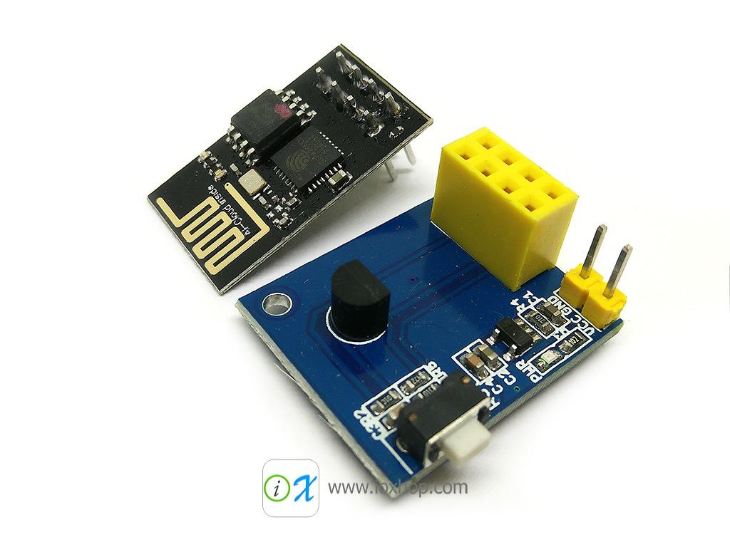 ESP01 DS18B20 Temperature Sensor Module + ESP8266 ESP01